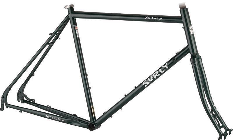 Disc Trucker frame green