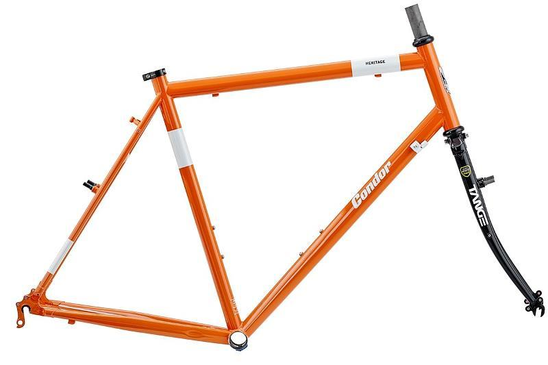 Condor Heritage frame orange
