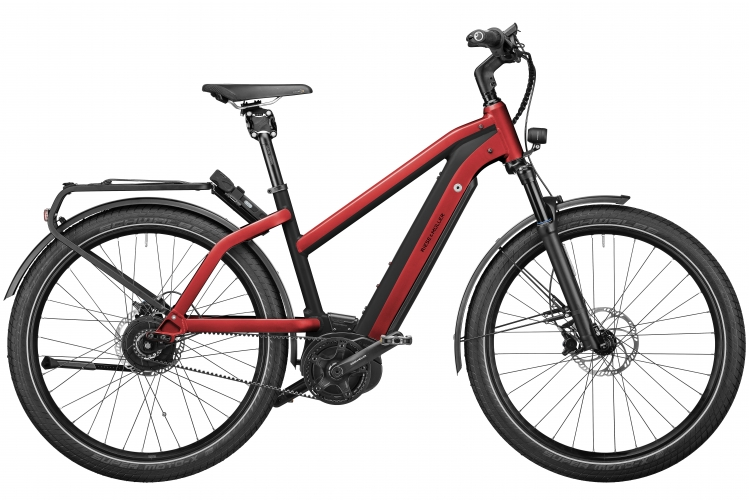 2021 R&M Charger Mixte GT Silent electric red
