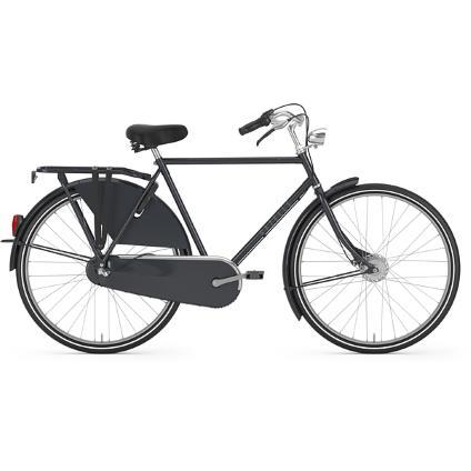 2018 Gazelle Classic 3 speed men's panther black