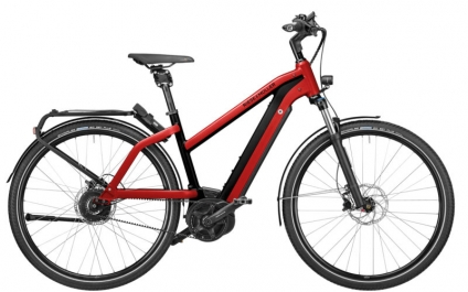 2021 R&M Charger Mixte Silent electric red