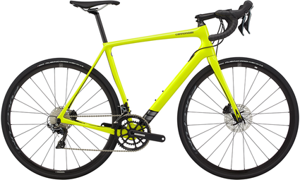2020 Cannondale Synapse Carbon Disc 105 - Neon Yellow