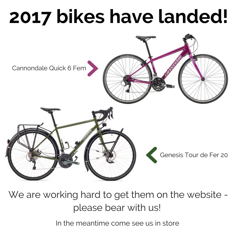 2017 bikes now in store image
