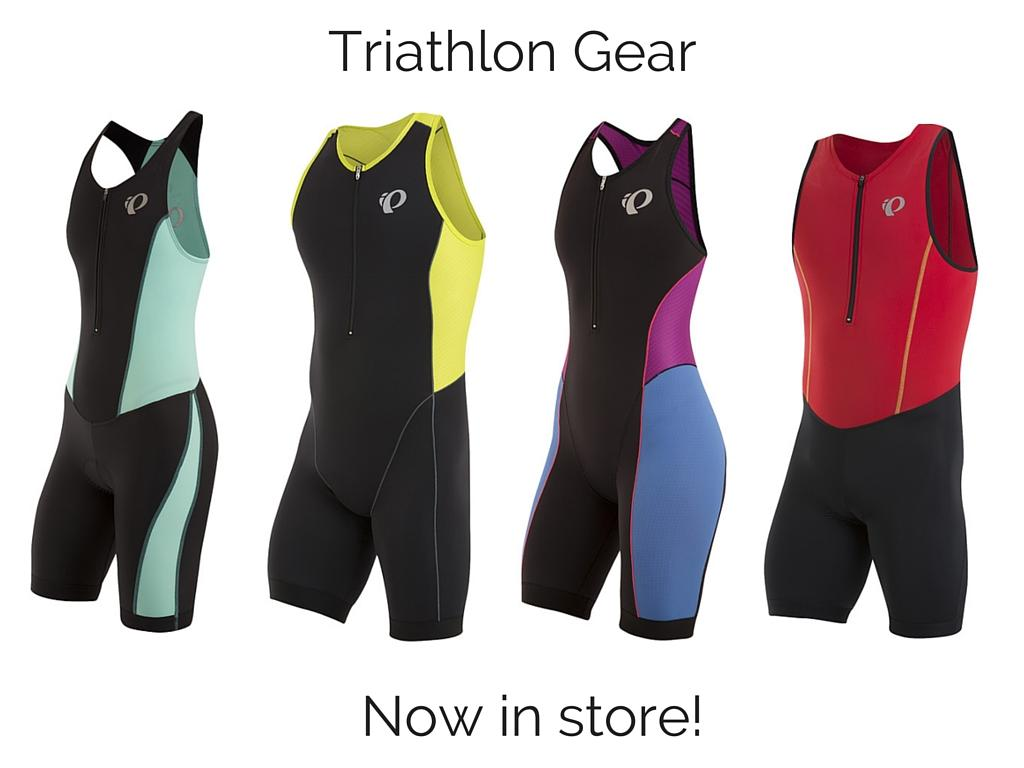 photo of tri gear