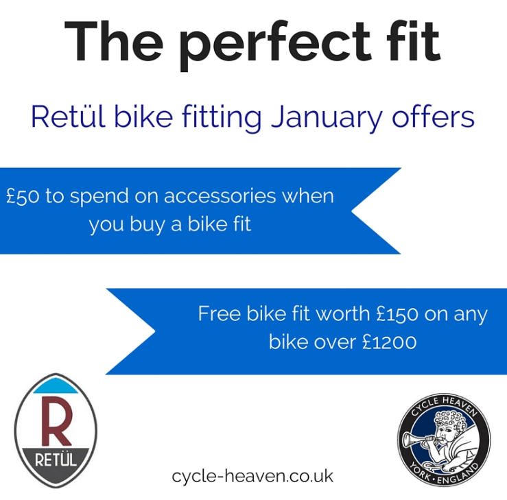 Offers on bike fitting